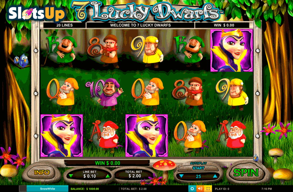 7 Lucky Dwarfs Online Slot Machine – Play Online for Free
