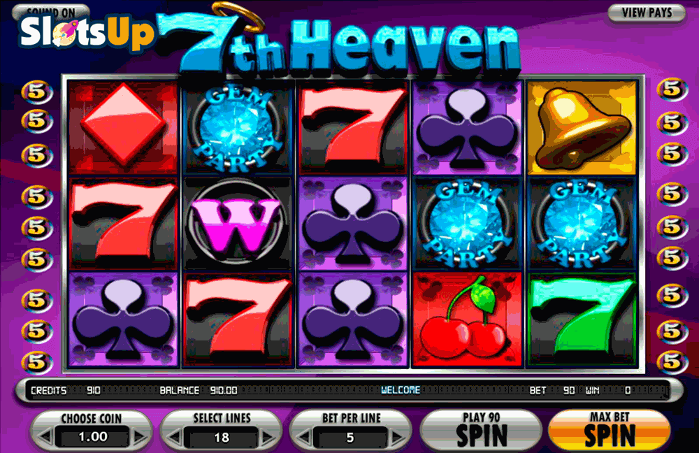 7Th Heaven™ Slot Machine Game to Play Free in BetSofts Online Casinos