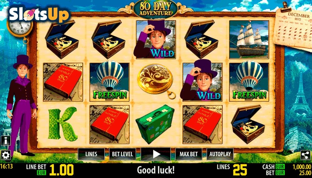 80 Days Adventure™ Slot Machine Game to Play Free in WorldMatchs Online Casinos