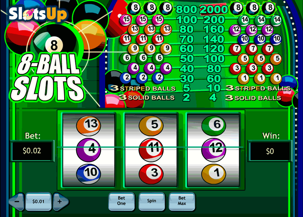 Play 8 Ball Slots Online at Casino.com NZ