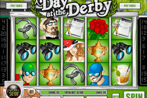 Day at the Derby™ Slot Machine Game to Play Free in Rivals Online Casinos