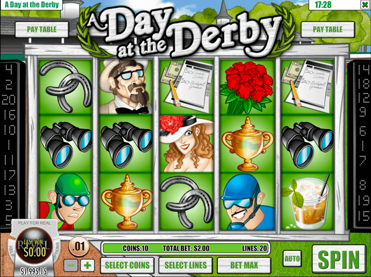A DAY AT THE DERBY RIVAL CASINO SLOTS