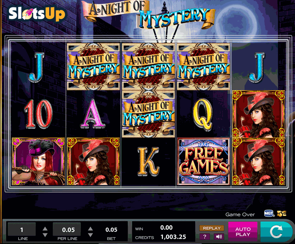 A NIGHT OF MYSTERY HIGH5 CASINO SLOTS