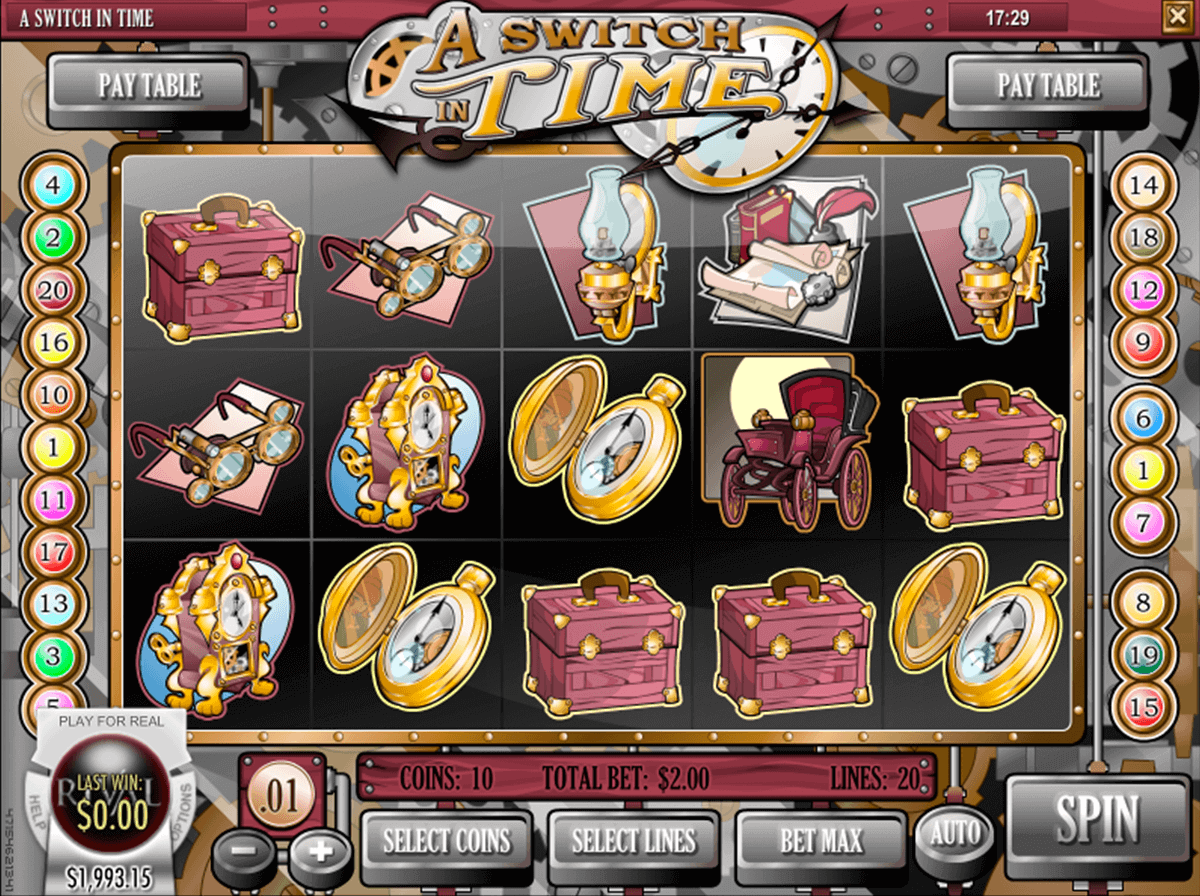 A Switch in Time™ Slot Machine Game to Play Free in Rivals Online Casinos