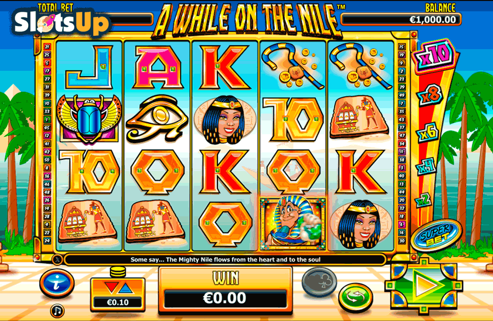 A WHILE ON THE NILE NEXTGEN GAMING CASINO SLOTS