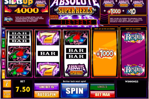 ABSOLUTE SUPER REELS ISOFTBET CASINO SLOTS