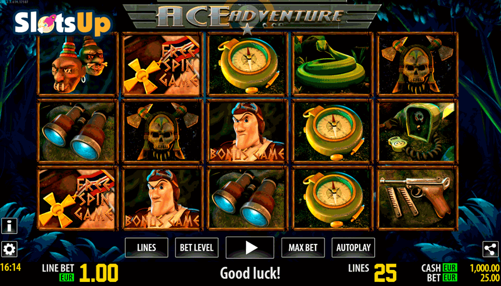 Ace Adventure Slot Machine - Play for Free Instantly Online