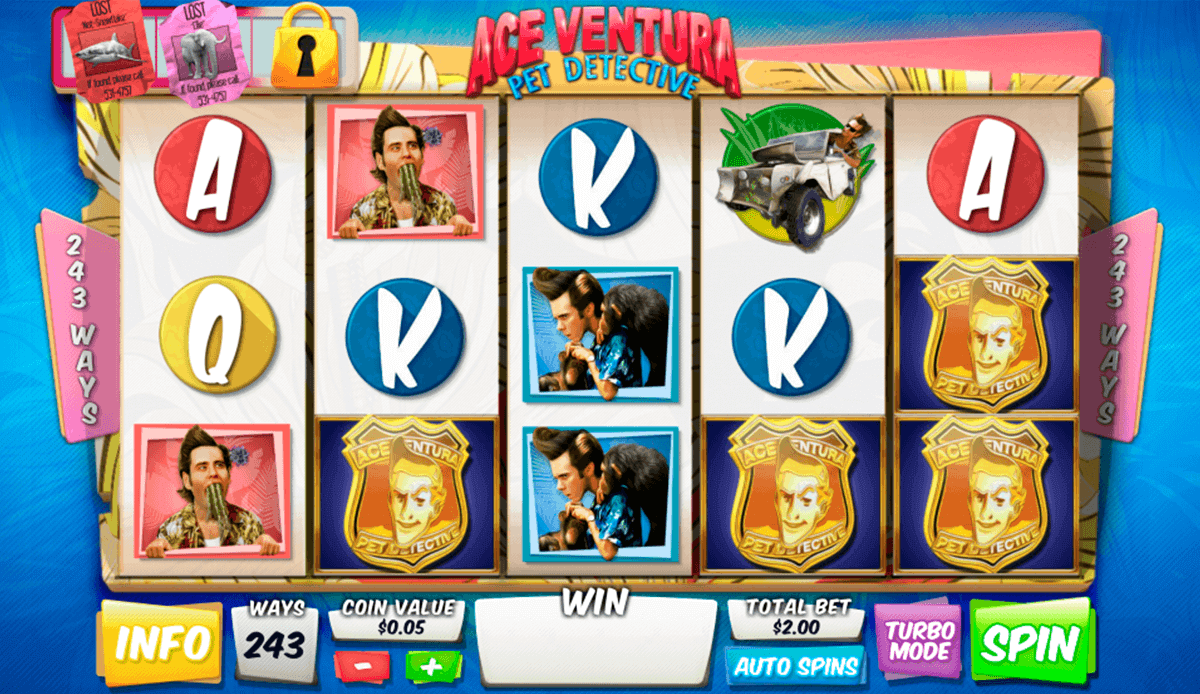 Ace Ventura: Pet Detective Slot Machine Online ᐈ Playtech™ Casino Slots