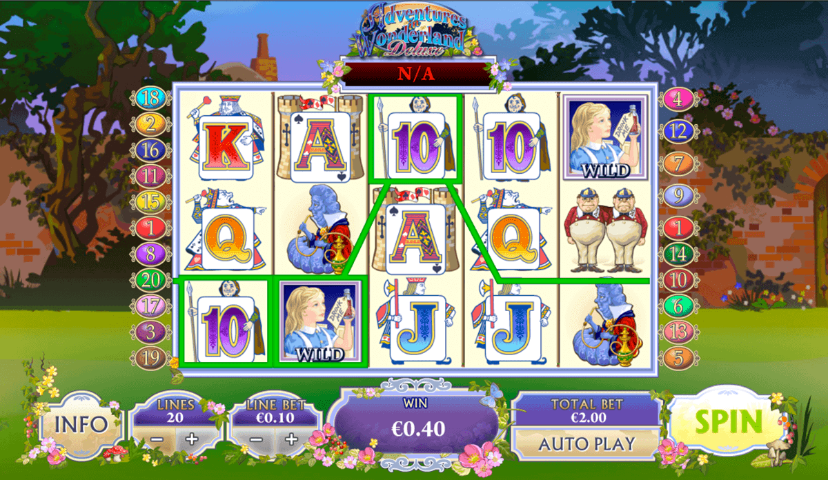 Play Adventures in Wonderland Slot at Casino.com Canada