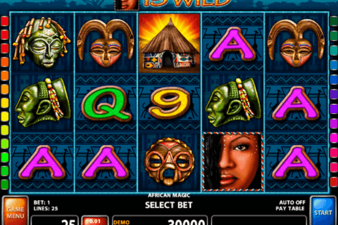 AFRICAN MAGIC CASINO TECHNOLOGY SLOT MACHINE