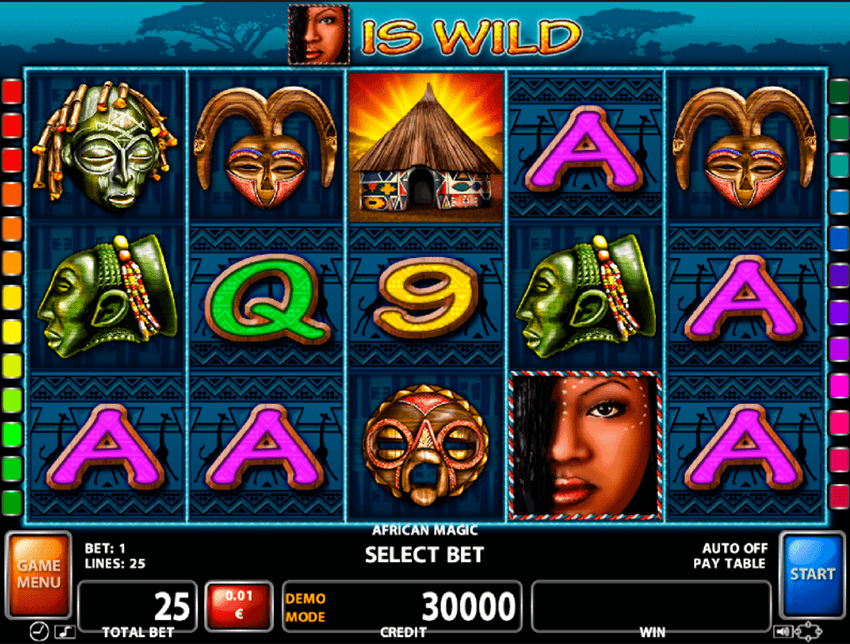 Africa Gold Slot Machine - Review and Free Online Game