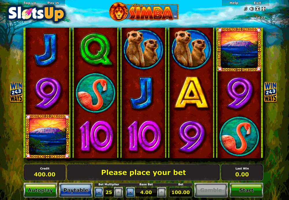 video slots online simba spiele