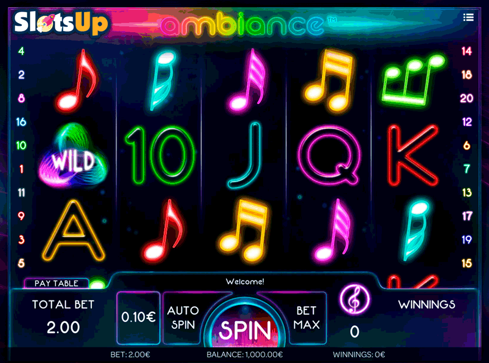 Ambiance™ Slot Machine Game to Play Free in iSoftBets Online Casinos