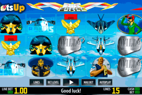air force hd world match casino slots