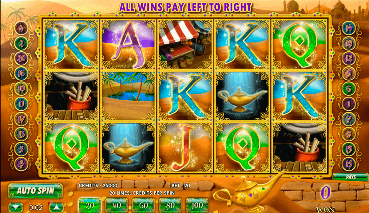 Aladdins Legacy Slot Machine - Play Now at Online Casinos