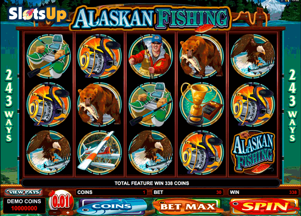 alaskan fishing microgaming casino slots