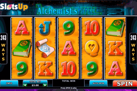 alchemists spell playtech casino slots