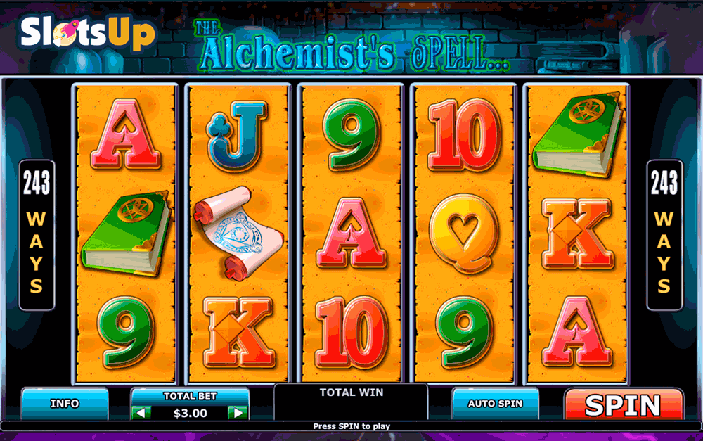 Alchemists Lab Slot Machine Online ᐈ Playtech™ Casino Slots