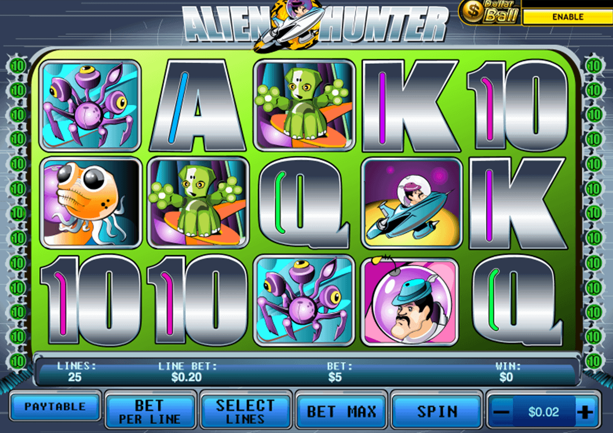 Alien Hunter Slot Machine Online ᐈ Playtech™ Casino Slots
