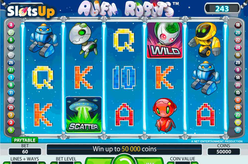 Aliens Slots - Play NetEnts Aliens Slots Online for Free