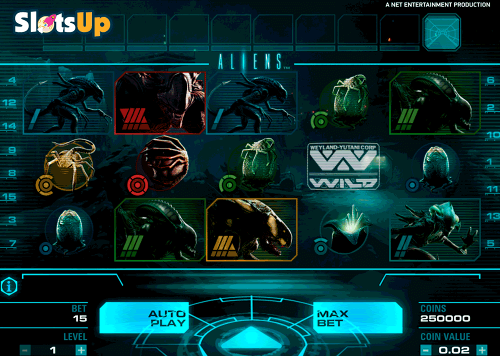 Aliens™ Slot Machine Game to Play Free in NetEnts Online Casinos