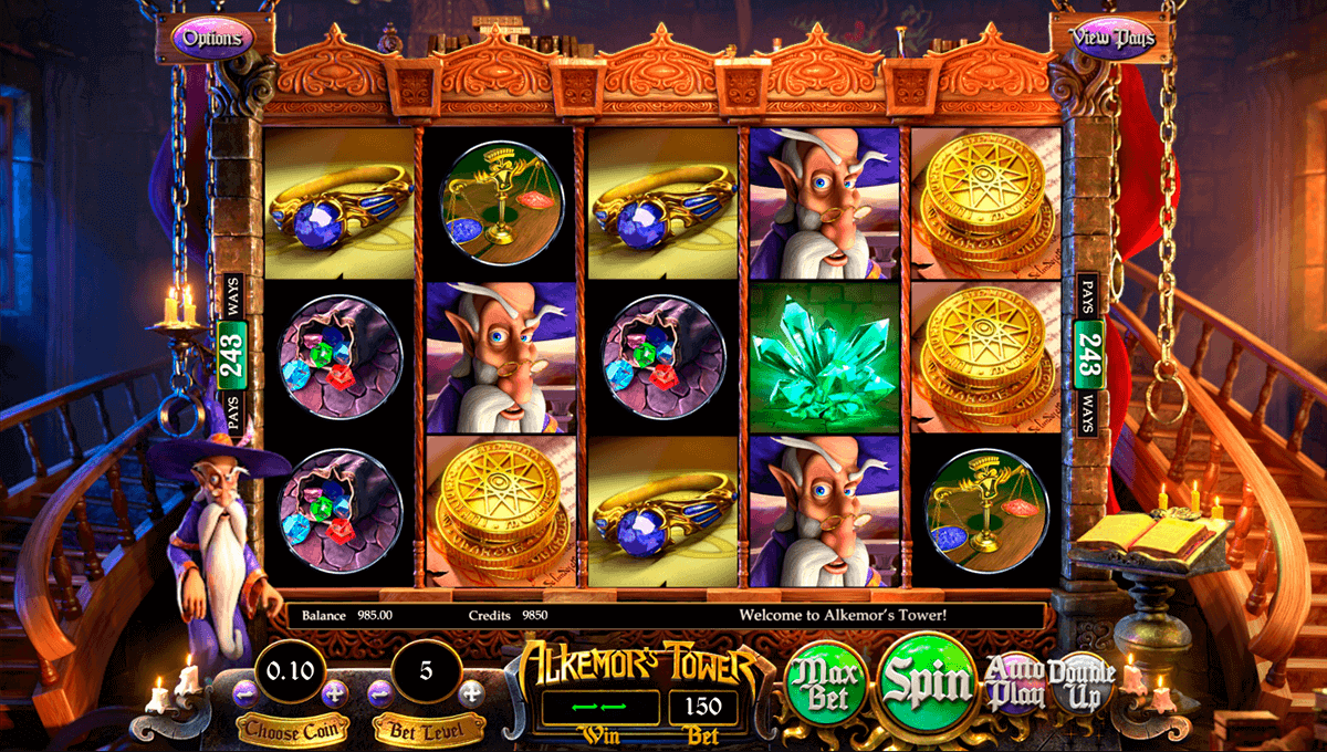 ALKEMORS TOWER BETSOFT CASINO SLOTS