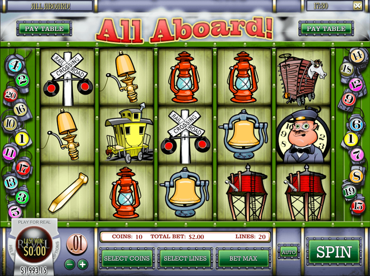 ALL ABOARD RIVAL CASINO SLOTS