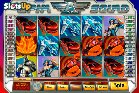 ALPHA SQUAD SAUCIFY CASINO SLOTS
