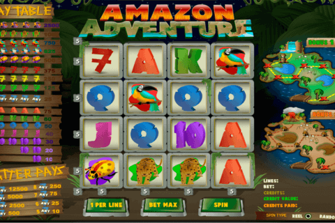 amazon adventure amaya casino slots