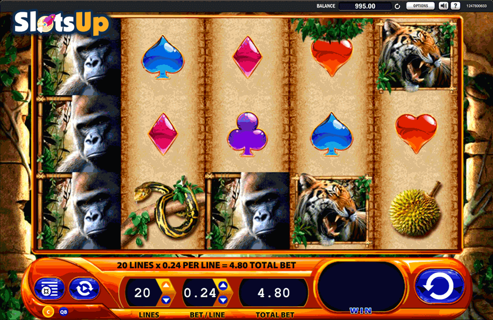 Play Amazon Wild online slots at Casino.com