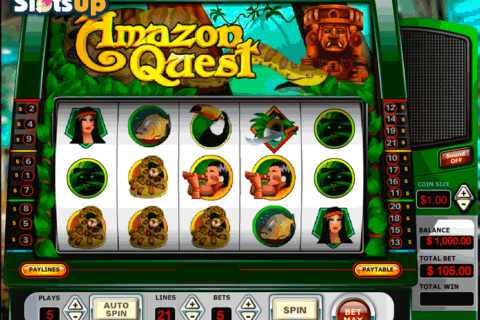 AMAZON QUEST VISTA GAMING CASINO SLOTS