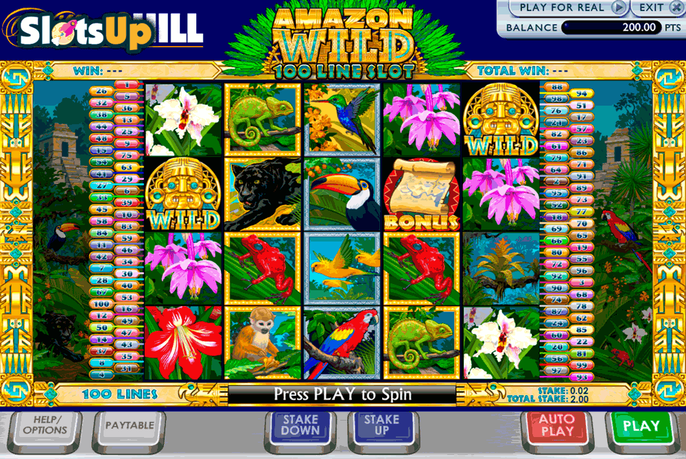 AMAZON WILD ASH GAMING CASINO SLOTS
