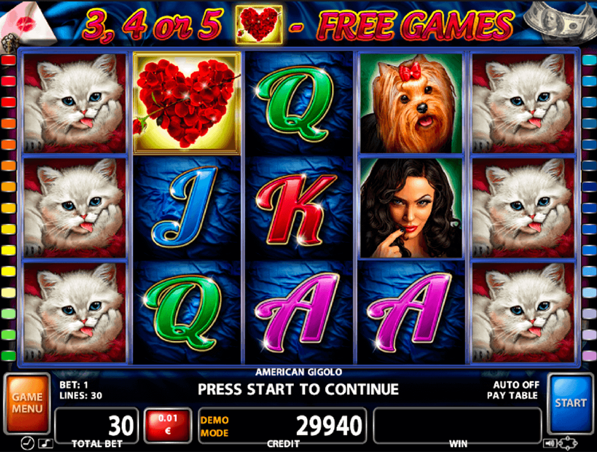 American Gigolo Slot Machine - Play Online for Free