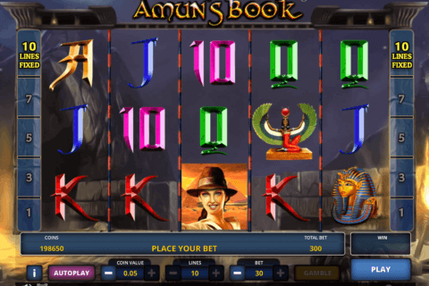 Amuns Book Slot Machine Online ᐈ Zeus Play™ Casino Slots