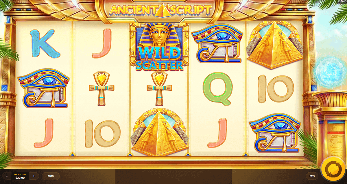 Ancient Script Slot Machine - Play Online for Free Now
