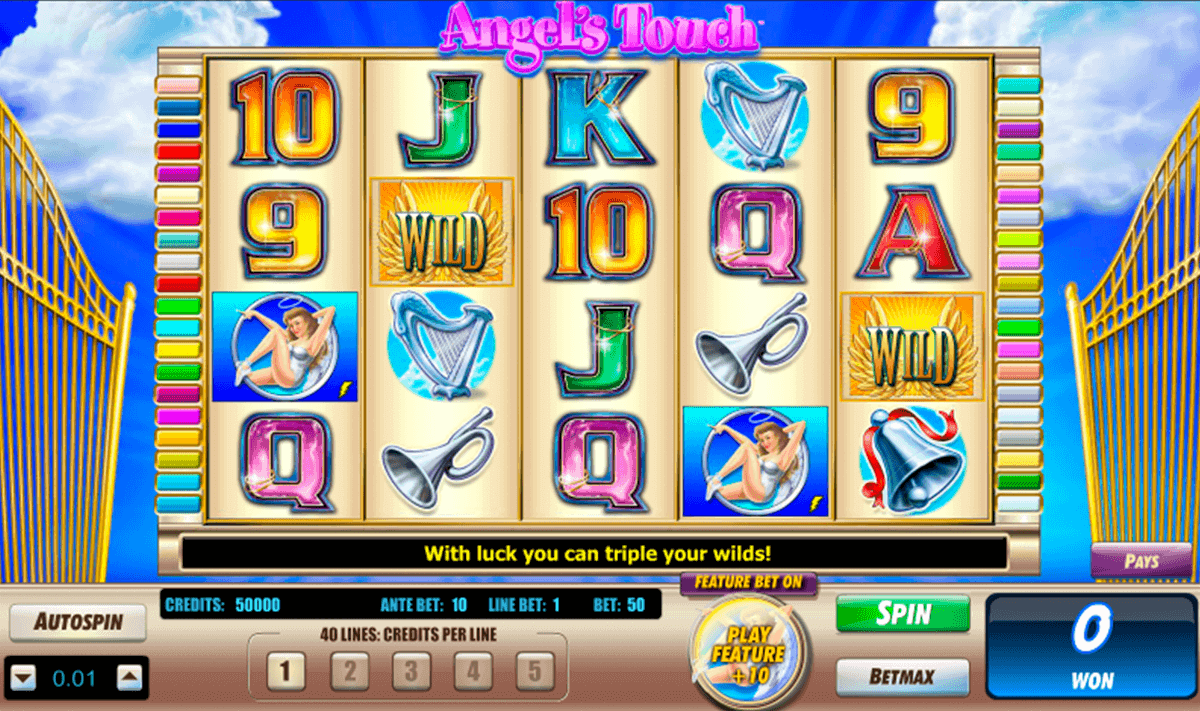 ANGELS TOUCH LIGHTNING BOX CASINO SLOTS