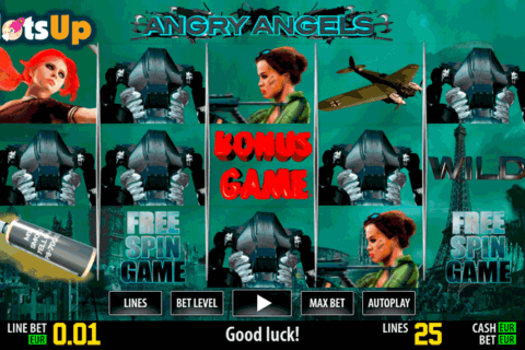 Angry Angels Slot - Try it Online for Free or Real Money