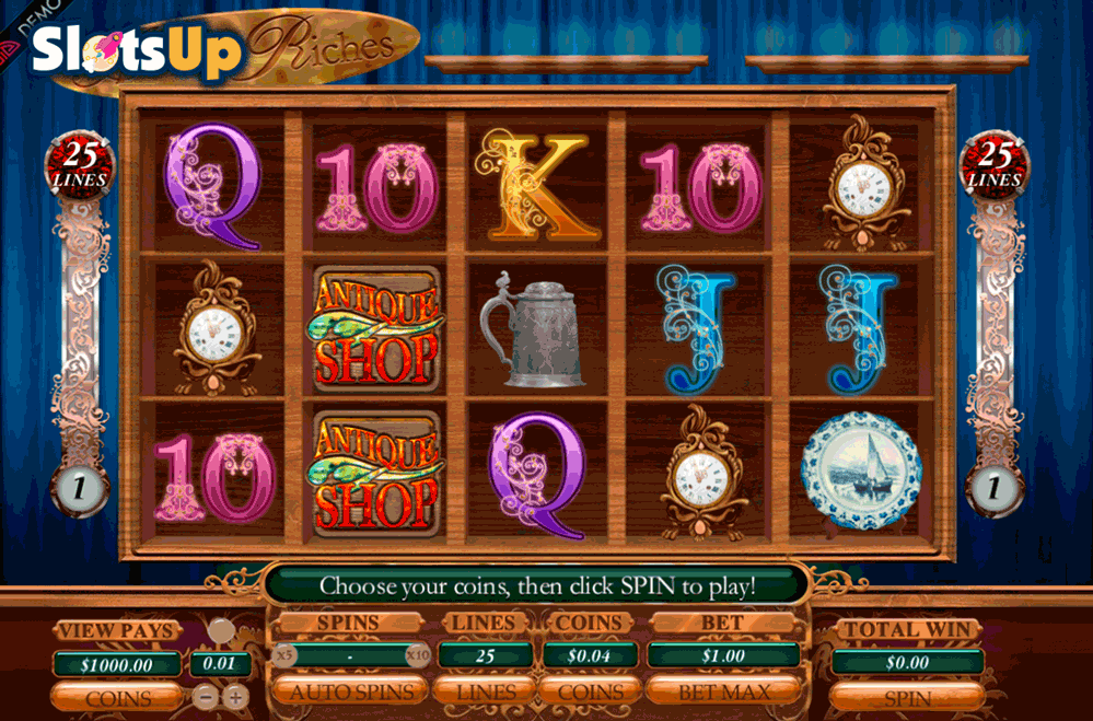 ANTIQUE RICHES GENESIS CASINO SLOTS