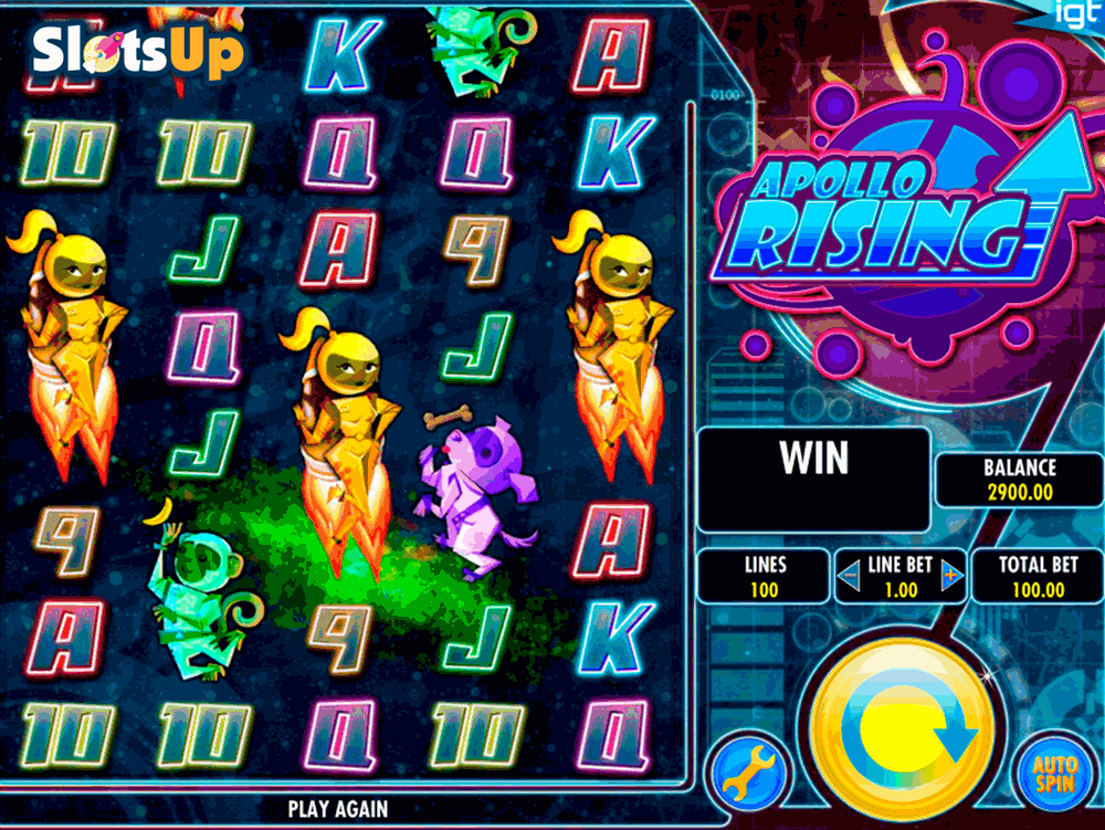 Apollo Rising™ Slot Machine Game to Play Free in IGTs Online Casinos