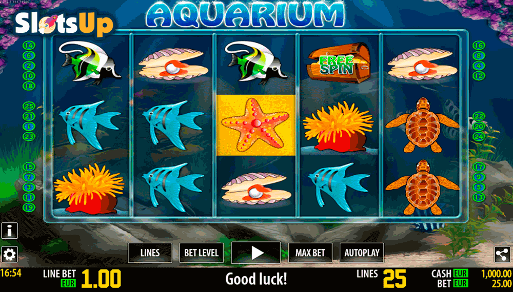 Aquarium™ Slot Machine Game to Play Free in Playsons Online Casinos