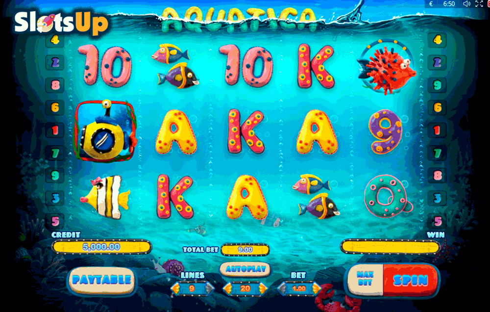 AQUATICA PLAYSON CASINO SLOTS