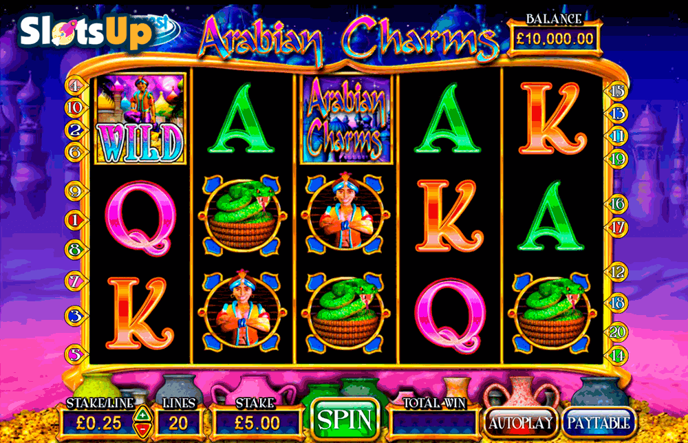 ARABIAN CHARMS BARCREST CASINO SLOTS