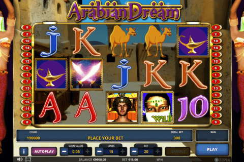 ARABIAN DREAM ZEUS PLAY