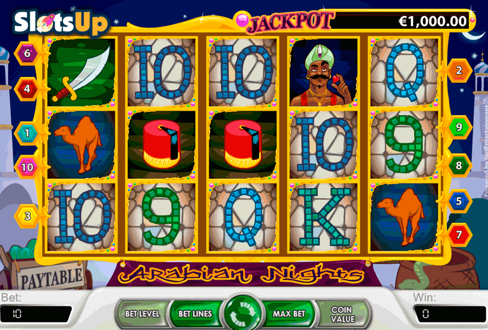 ARABIAN NIGHTS NETENT CASINO SLOTS