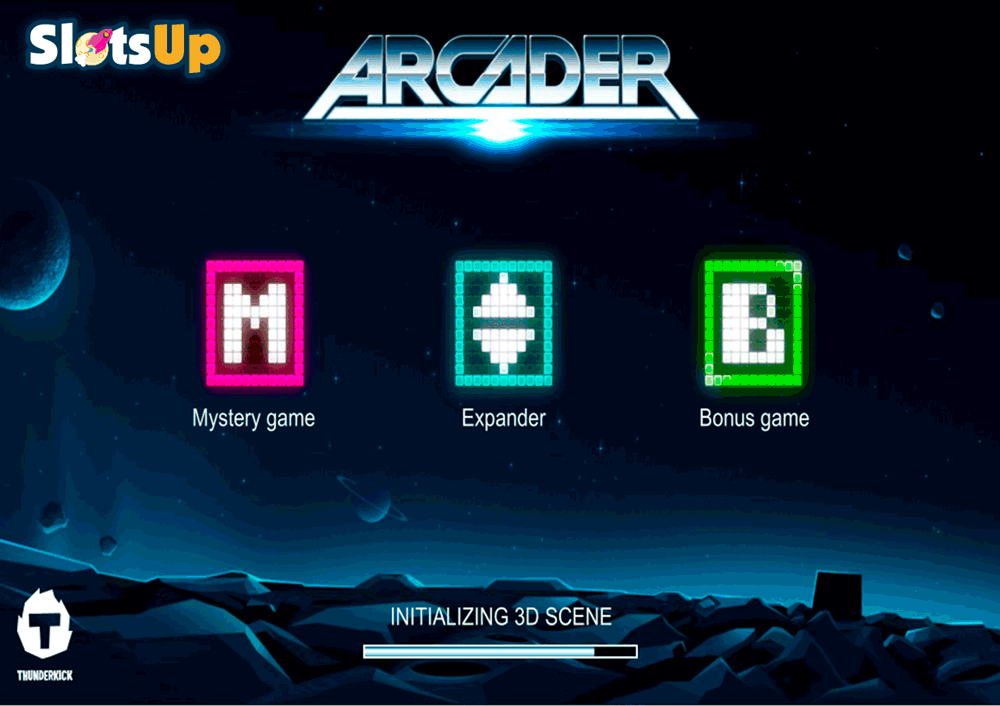 Arcader™ Slot Machine Game to Play Free in Thunderkicks Online Casinos