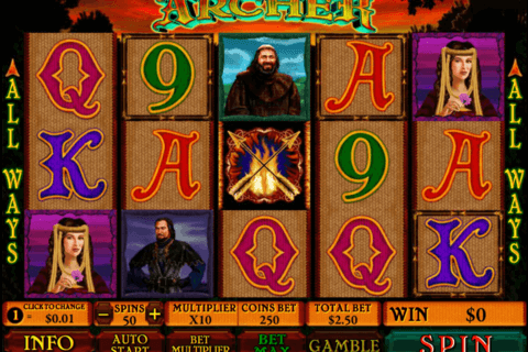 ARCHER PLAYTECH CASINO SLOTS