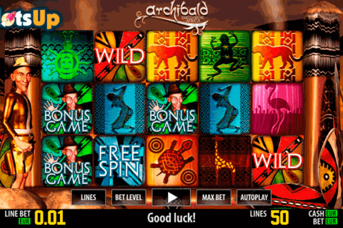 archibald africa hd world match casino slots 480x320