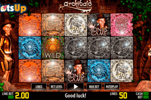 archibald maya hd world match casino slots