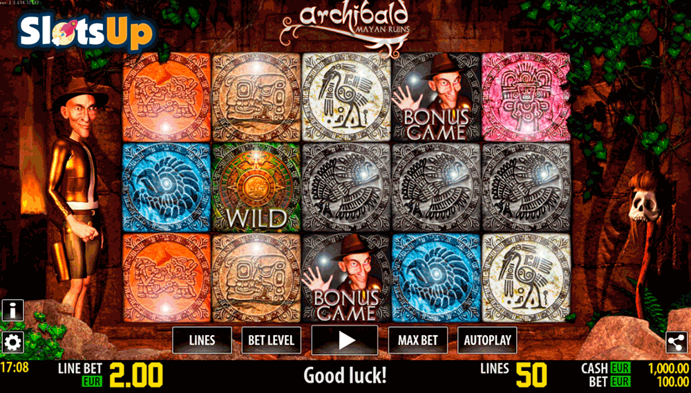 Archibald Maya HD Slot Machine Online ᐈ World Match™ Casino Slots