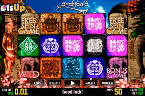 ARCHIBALD ORIENT HD WORLD MATCH CASINO SLOTS